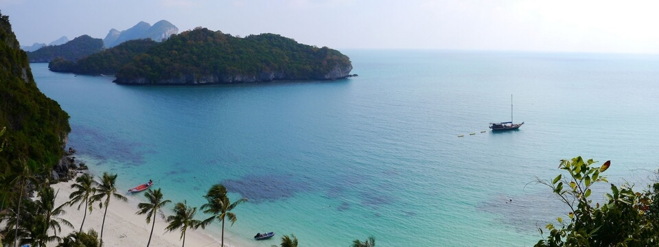 Private Charter One Day Angthong