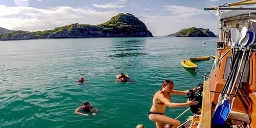 Calao Réserve Marine d'Anghtong